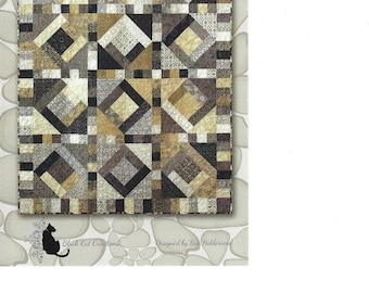 Stepping Stones Quilt Pattern by Black Cat Creations