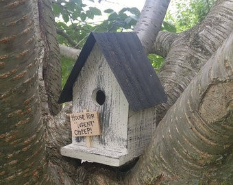 Birdhouse  House for Wrent