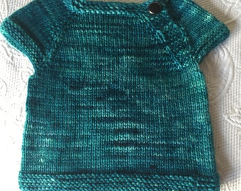 Short Sleeve newborn sweater - choose from ready made or made to order!