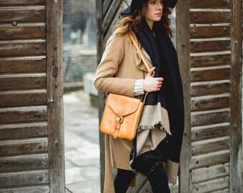 Borasko, Handmade Leather bag, leather shoulder bag, women's leather bag, high quality women's bag, leather purse, Bolson Bags