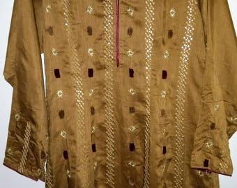 Kameez Salwar Suit - readymade, embroidered