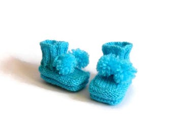 Christmas, Baby boy shoes, Newborn shoes, baby shower, Gift for newborn, Knited baby shoes, Baby socks, Christmas gift, Newborn  0-3 month