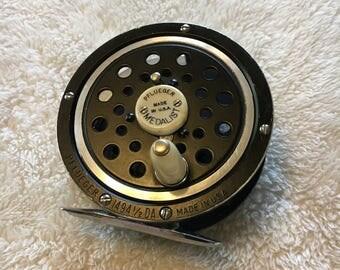 Vintage Pflueger Medalist 1494 1/2 DA Fly Fishing Reel