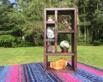 Rectangular Crystal Display Shelf