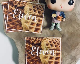 Eleven Sticker Stranger Things