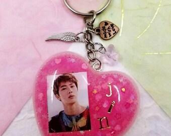 BTS JIN Keychain