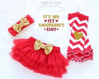 baby first valentines outfit baby 1st valentines outfit my first valentines day outfit