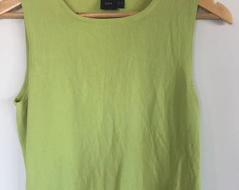 Lime green top. Size small-medium.