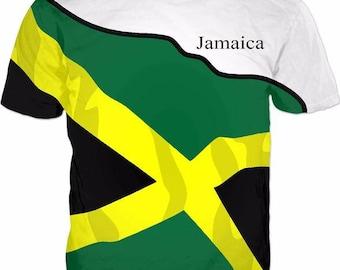 Jamaica Men's Classic Flag Tee 2.0 dTTcwWln