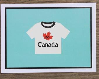 CANADA 150 card