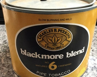Pipe Tobacco Can