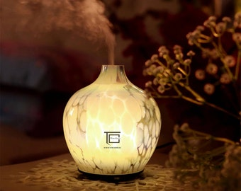 Handcrafted & Art Glass Aromatherapy Essential Oils Diffuser