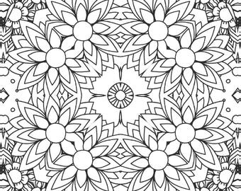 Colouring Book Pages - Design Pack 3