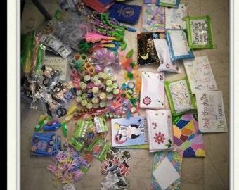 Kids just because bags, Kids Grab bag, Self-esteem bags, Education Fun Bags, Toy bags ages 8-11