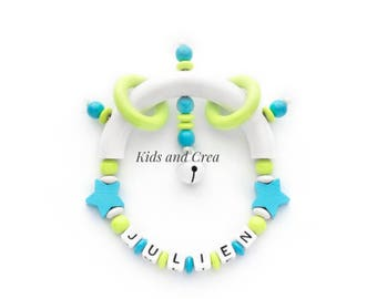 Personalized name Baby Rattle