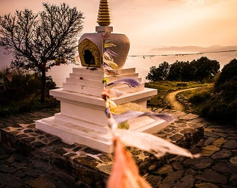 Stupa of O Sel Ling - Limited Edition Digital Download