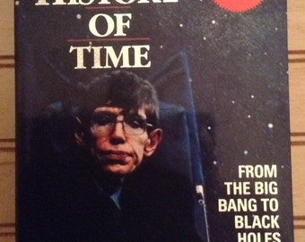 A Brief History of Time by Stephen W. Hawking 4 Cassette Set