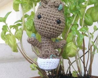 Baby Groot from the mignonitude