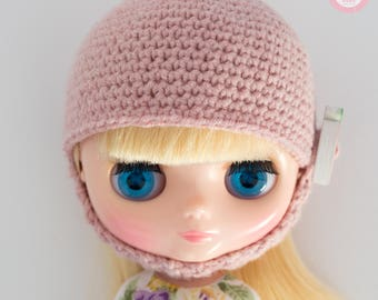 Blythe Middie Hat pink strawberry