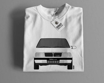 T-shirt Lancia Thema i.e. Turbo | Gent, Lady and Kids | all the sizes | worldwide shipments | Car Auto Voiture