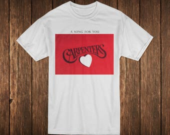 The Carpenters A Song for You Music Album T-shirt