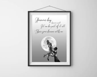 Share Your Dreams With Me Lyrics, Greatest Showman Wall Art, A Million Dreams, Greatest Showman Lyrics, Share Your Dreams Printable
