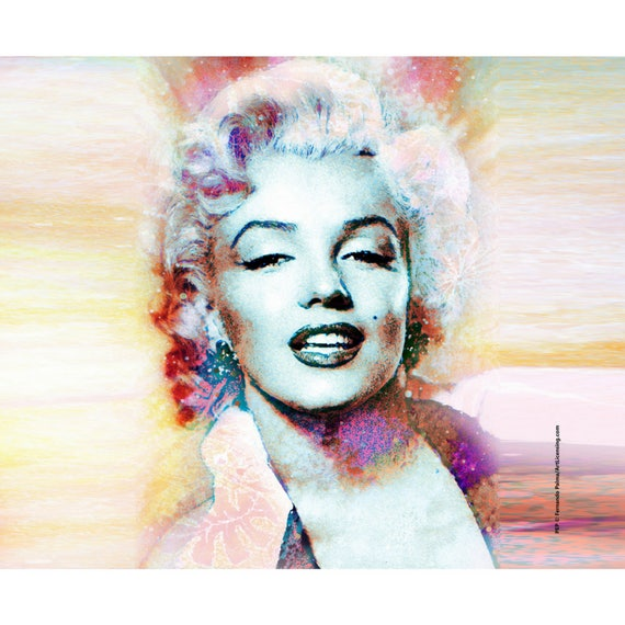 Marilyn Monroe Throw Blanket
