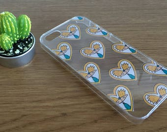 hey football head - hey arnold phone case | nineties inspired, tumblr, clear case, protective case, iphone 5, 6, 6 plus, 7, unique gift