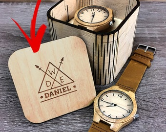 Wooden Gift Watch,Mens Wood Gift Watch,Wood Wrist Watch,Map Watch,Wooden Box,Bff Gift,Boyfriend,Mentor Teacher Gift,Cool Gifts For Mom,Prese