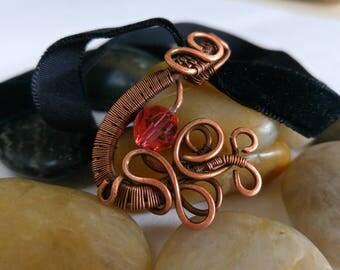 Wire Wrap Copper Choker