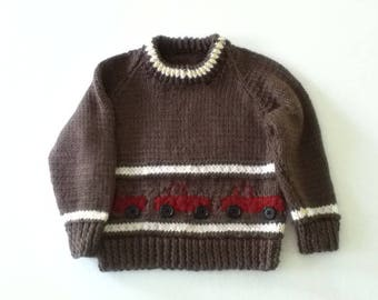 Boy's 18 Month Pullover Sweater