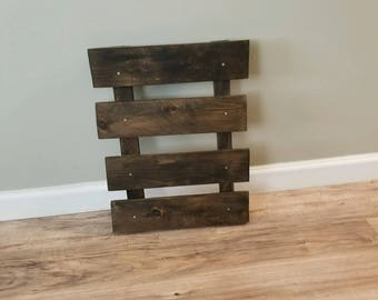 Mini Pallet Wall Decor