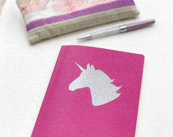 Unicorn glitter decal sticker adhesive vinyl decoration sparkle sticky shiny accessory accessorise removable fantasy decal