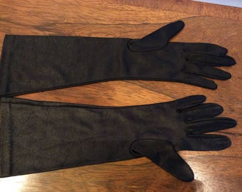 "VINTAGE KAYSER Women's Gloves | NYLON Size: 6.5 (13.5"" Long) - Made In Canada"