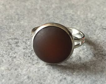 chocolate frosted ring