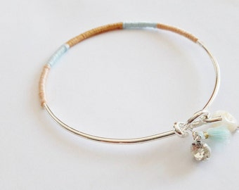 The little ' Lil son: Bangle and pastel cotton