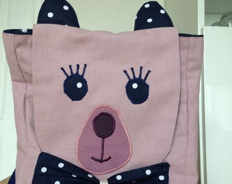 Kindergarten backpack * Teddy bear * adjustable straps