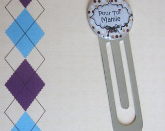 "GRANDMAS day - Gift for Grandma: ""For you Grandma"" bookmark"