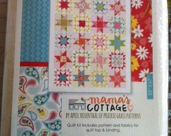 NEW Momma's Cottage Quilt Kit from Moda