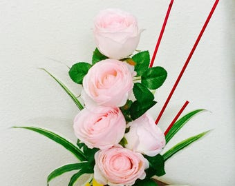 Pinkish White Rose Arrangment