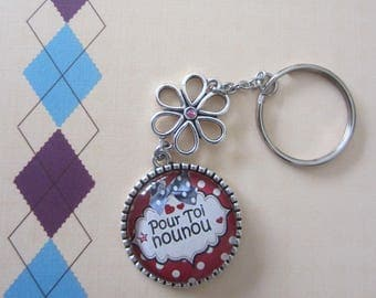"Keychain ""For you nanny"""