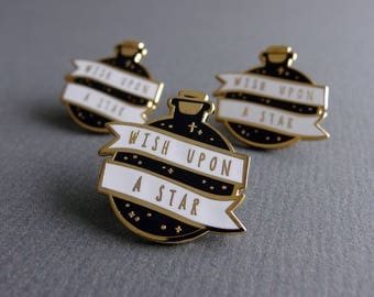 Star Potion Enamel Pin