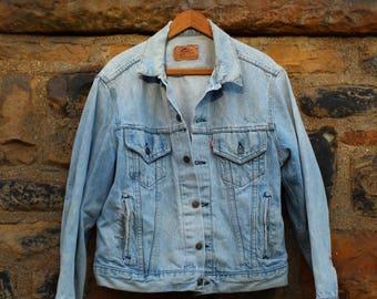 Vintage 80s Womens Levi's Denim Jacket