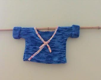 Knitted wrap for baby