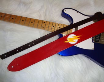 The Flash guitar strap
