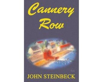 Canvas Art Print - Cannery Row (John Steinbeck)