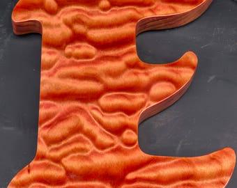 Letter Wood Cutout