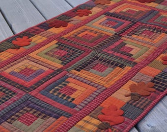 Cozy Cabins Quilt Pattern PDF by Jen Daly Quilts - Instant Download