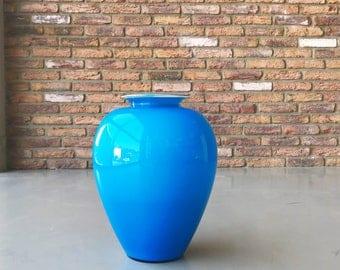 SOLD-VENINI Vase Blue