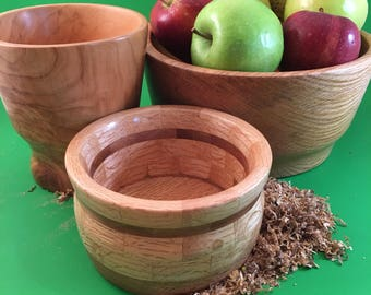 Hand Turned Wooden Bowls